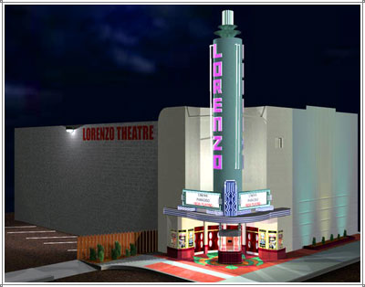 Lorenzo Theatre 3D model
