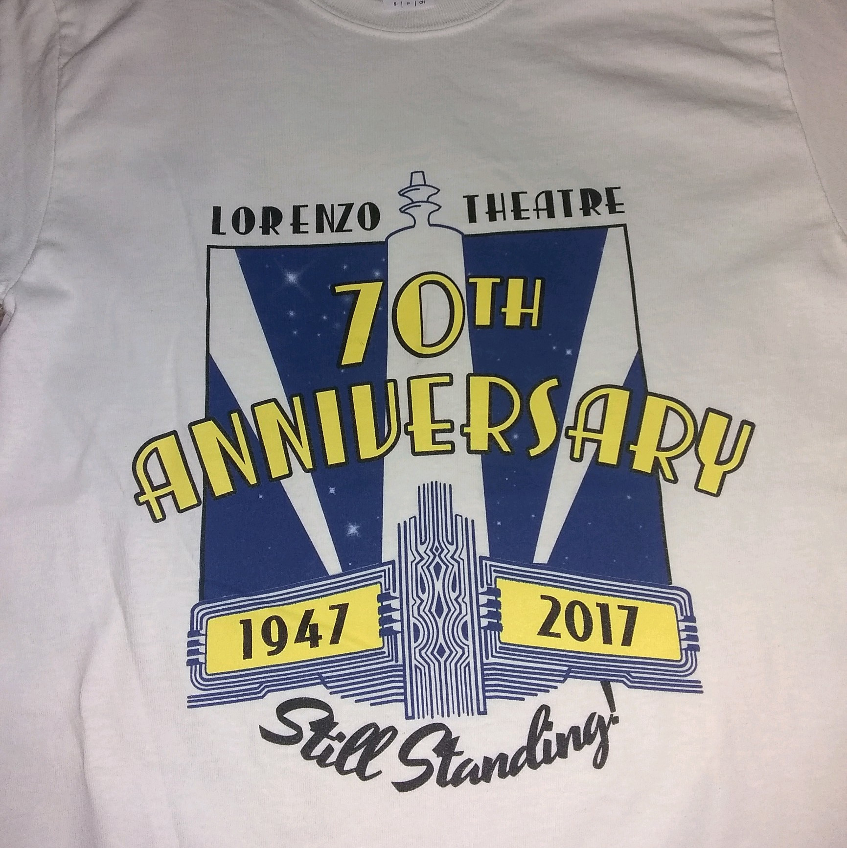 Lorenzo Theater Foundation Shirts